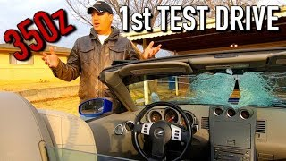 Everything Wrong with the Copart 350z + Test Drive