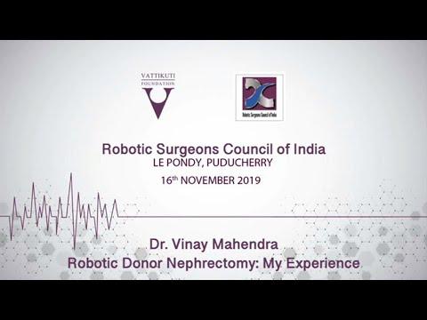 Robotic Donor Nephrectomy: My Experience
