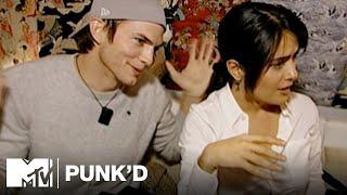 Ashton Kutcher vs. Salma Hayek, Eva Longoria & Mario   Punk'd