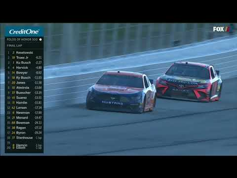 Final Laps: Keselowski holds off late charge from Truex for Atlanta win