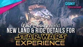 New Ride and Land Details for 'Star Wars Land' at Walt Disney World - Disney News - 6/1/17