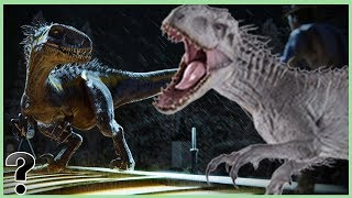 What If The Indoraptor Fought The Indominus Rex?