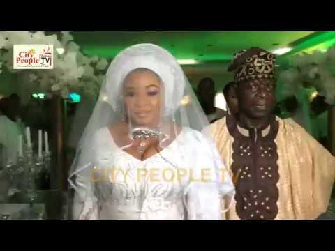 Lagos Celeb Babe Ayisat Agbeke Keshiro shutdown Ijebu Ode For Her Wedding