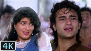 'Ye Gore Gore Gaal' Full 4K Video Song | Saif Ali Khan, Twinkle Khanna - Dil Tera Diwana