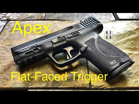 Apex Tactical Flat-Faced Trigger Kit - This Is The Upgrade The M&P 2.0 Compact Needed!