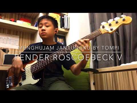 Menghujam jantungku bass cover by Fanuel usia 13 tahun