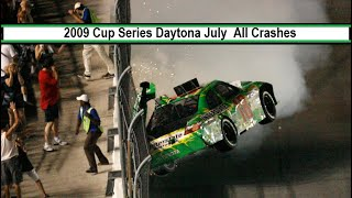 All NASCAR Crashes From The 2009 Coke Zero 400