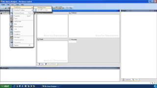 SAP BW - SAP BEx Query Designer Menus and Toolbar