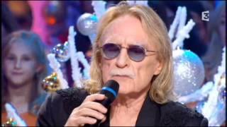 """Chabada (1.1.2012): Christophe chante """"Les paradis perdus"""" et """"Les mots bleus"""""""