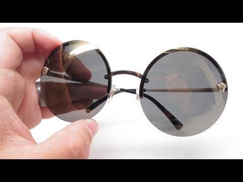 Versace VE 2176 Sunglasses Unboxing & Review 125287 & 12524T