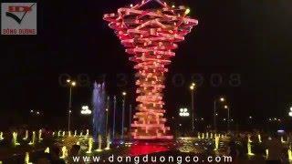Thiết kế nhạc nước-Thiết kế sàn phun nước-đài phun nước nghệ thuật