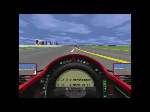 MicroProse Grand Prix 2 By Geoff Crammond British Grand Prix Round 8 (F1 1994)