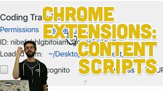 11.3: Chrome Extensions: Content Scripts - Programming with Text