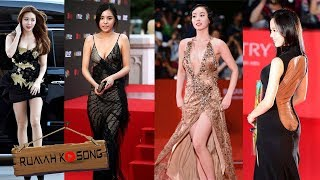 Download Video Bikin Tak Berkedip..!! Gaun Terbuka Artis Korea Di atas Red Carpet MP3 3GP MP4