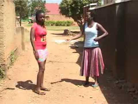 Kansiime Anne against the mini skirt.