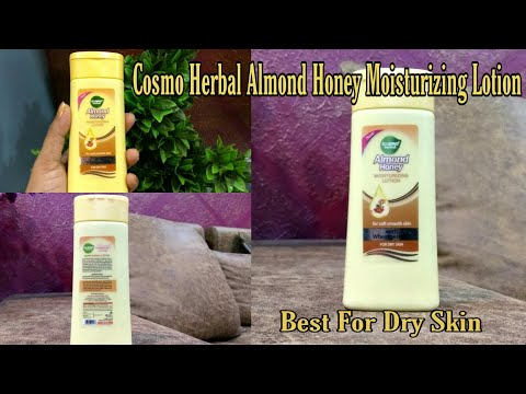 Cosmo Herbal Almond Honey Moisturizing Lotion Review।।Best For Dry Skin ।।MeSoraStyle