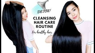 My Detox and Cleansing Hair Care Routine -Solutions for Oily Scalp & Dry Hair Beautyklove