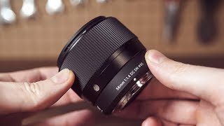 Tiny BOKEH MASTER for M43 / Sigma 56mm f/1.4 Lens Review for MFT