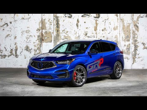 Awesome Acuras 2019 RDX Arrive At SEMA