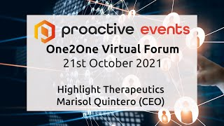 highlight-therapeutics-presenting-at-the-proactive-one2one-virtual-forum-october-2021