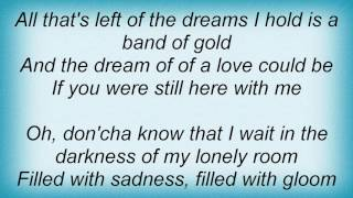 Anna Nalick - Band Of Gold Lyrics