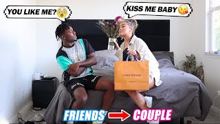 My Best Friend ASKS to be my NEW Girlfriend Face to Face! SHOULD I DATE HER? PRANK