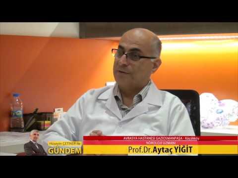 Avrasya Hastanesi Gaziosmanpaşa Nöroloji Uzmanı Prof. Dr. Aytaç Yiğit