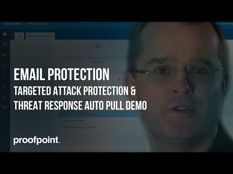Proofpoint Email Protection Suite – Product Demo