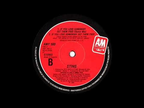 Sting - If You Love Somebody Set Them Free (Torch Mix) 1985