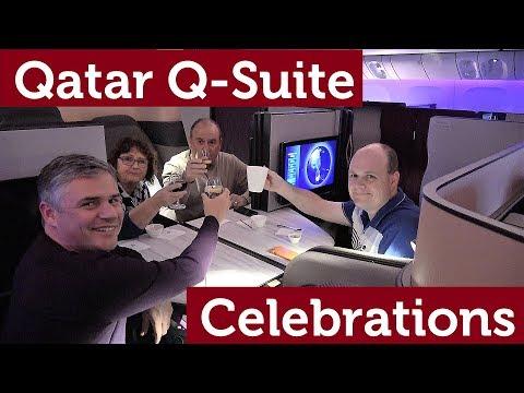 Qatar Q-Suite Celebrations!!