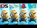 Despicable Me The Game 2010 Nds Vs Psp Vs Ps2 Vs Wii wh