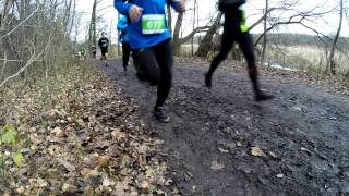 preview picture of video 'Poznań 20 12 2014 3. bieg GP City Trail 2014-2015'