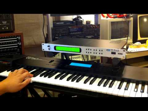LEGACY SOUND BANK | KORG TRINITY | Classic Sounds Library - Synth