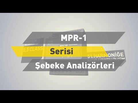 ENTES MPR-1 Serisi Şebeke Analizörleri
