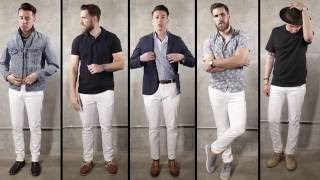 5 Ways To Wear White Denim Every Guy Needs To Try