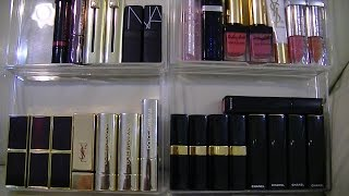 My Lipstick Collection 2014 (Chanel, YSL, Tom Ford, Dior, Nars, Guerlain) ~ popcornday