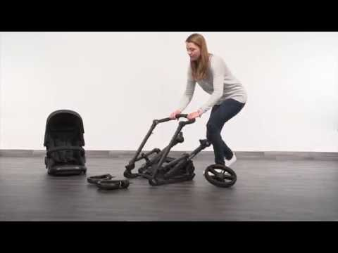 Britax B-Ready -vaunukopalla, Steel Grey