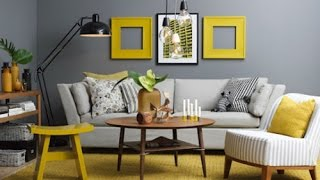 Yellow - Gray    The Perfect Color Scheme For The Interior