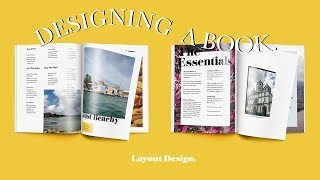 Layout Design (Making A Travel Guide) | Paola Kassa