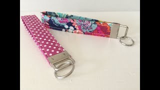 How To Make A Wristlet Key Fob Ring