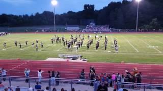 Armada High School Marching Band Song 04 9/9/16