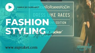 Fashion || SiMPLe - Dress like Raees with StyleCracker!