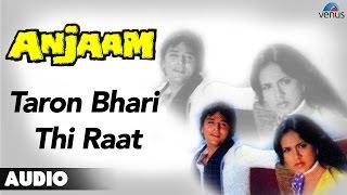 Anjaam : Taron Bhari Thi Raat Full Audio Song   - YouTube