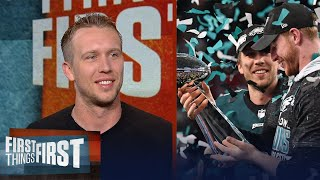 Nick Foles on Philly's challenges, coexisting with Carson Wentz on Eagles | NFL | FIRST THINGS FIRST