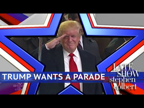 The Trumps-Giving Day Military Parade