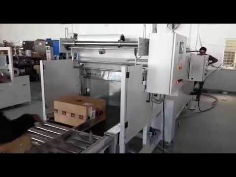 Shrink Tunnel Machine With Collator