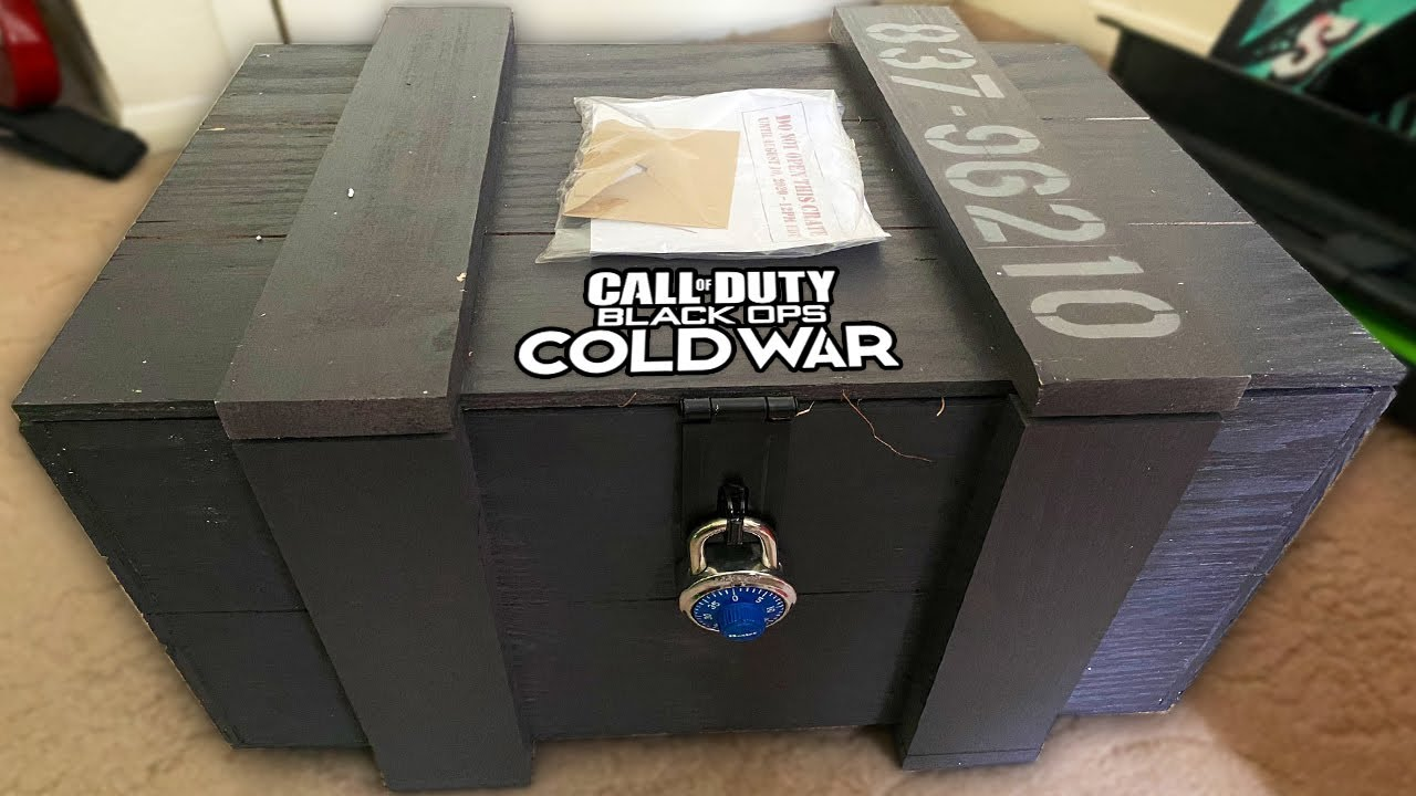 Call of Duty 2020: Black Ops Mystery Crate Explained!