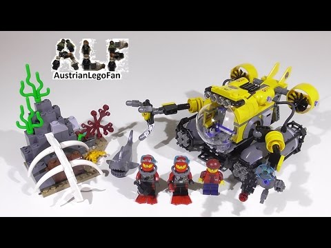 Vidéo LEGO City 60092 : Le sous-marin