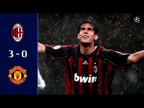 AC Milan 3-0 Manchester United I AC Milan Legends I Champions League 2006/07