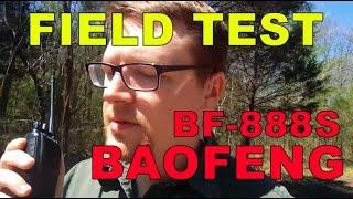 Field Testing A Baofeng 888S